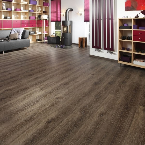 windmöller flooring products WFP GmbH - windmöller flooring products WFP GmbH - Collection Ambra Round Edge brand Wineo; decor: Oak Everglade