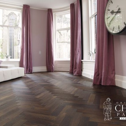 Chapel Parket - Chapel Parket - A series of Chapel Parket, staves Herringbone, double tinted color