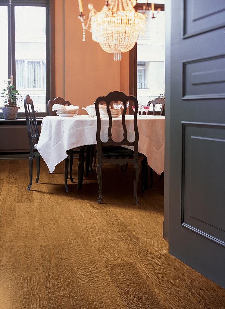 Quick Step Laminate Flooring Eligna Oak Dark Satin Board U918