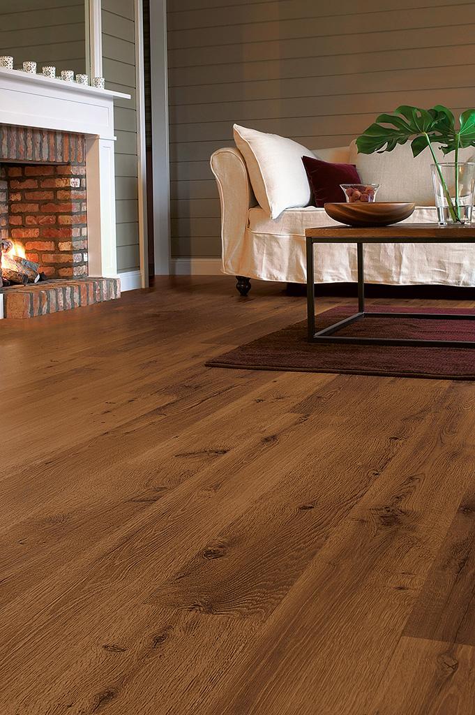 Quick Step Laminate Flooring Eligna Oak Old Dark Satin Board U1001