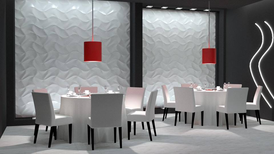 Wall Panel 3d Origami Dunes Panele Dekoracyjne 3d Cad