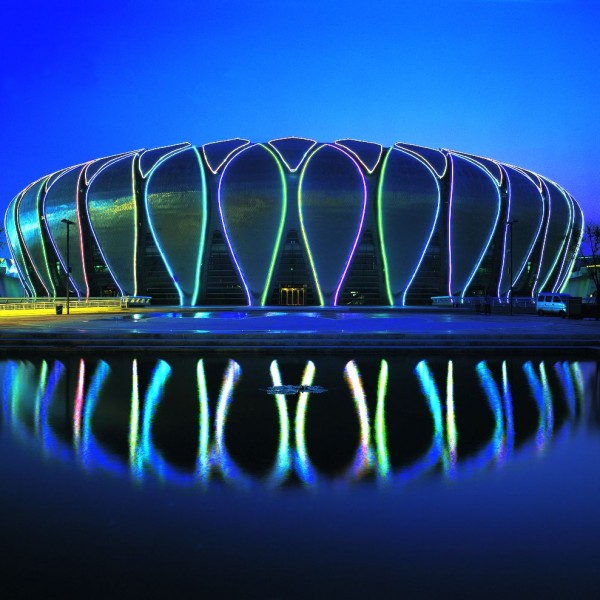 RHEINZINK U.K. - RHEINZINK U.K. - The stadium sports Games in Jinan, China, the technology scales facade, sheet RHEINZINK bright rolled