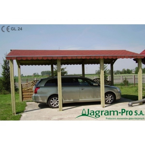Carport alaska 1 jagram pro s a cad dwg archispace for Carport pro download