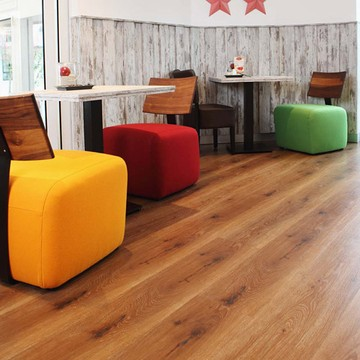 windmöller flooring products WFP GmbH - windmöller flooring products WFP GmbH - Collection kingsize brand Wineo, decor: Western Oak